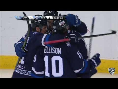 КХЛ 2016-2017 Динамо-Минск: Мэтт Эллисон (нарезка голов)