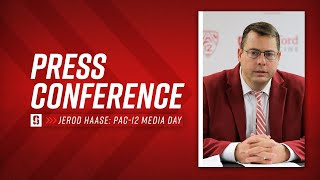 Stanford Men's Basketball: Jerod Haase Pac-12 Media Day Press Conference