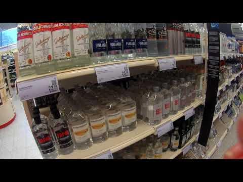 Алкомаркет. Цены на акоголь в Финляндии. Europa Prices For Alcohol In Finland.