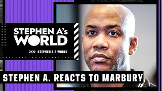 Stephen A. responds to Stephon Marbury's criticism | Stephen A's World