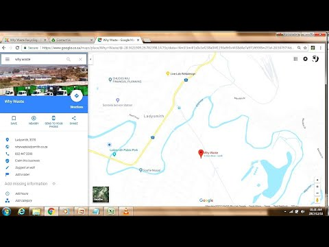 How To Embed A Google My Business Map In A Joomla Website Template - Joomla 2.5
