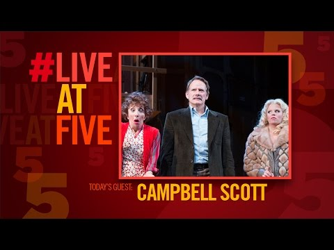Broadway.com LiveatFive with NOISES OFF's Campbell Scott