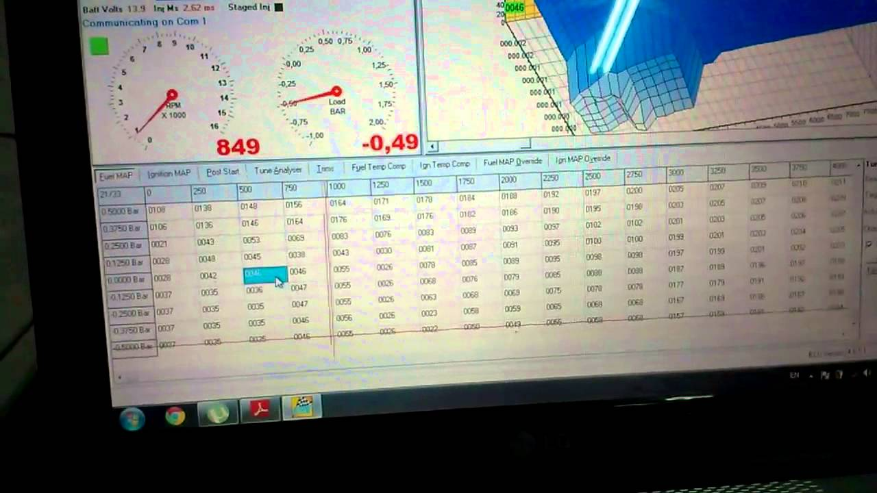 ems stinger ecu wiring diagram ceiling fan diagrams 4424 v4 first start youtube