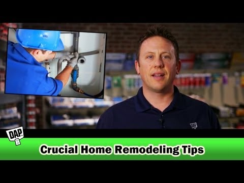 Five Crucial Home Remodeling & Renovation Tips