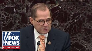 Nadler gets fired up during Senate trial, calls Trump a dictator