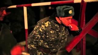 Зеленые человечки.... Крым, украинская военная часть...