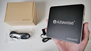 Alfawise A8 Android 8.1 TV Box - Rockchip 3229- Under $30