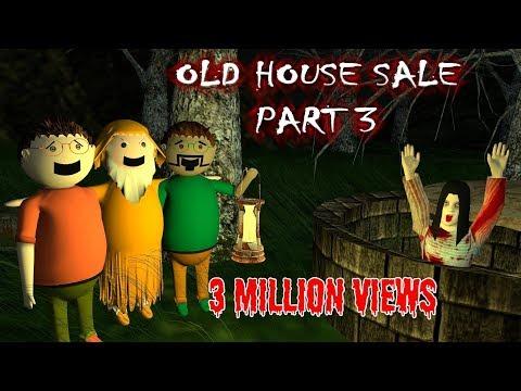 Old House Sale Part 3 - Horror Story (Animated Cartoon For Kids) Make Joke Horror
