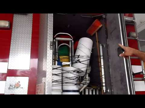 Palm Beach County Fire-Rescue Station 19 (HQ For District 1) Tour Of Special Operations 19