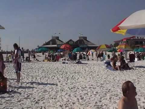 Bikini's and Sand Castles on Pensacola Beach