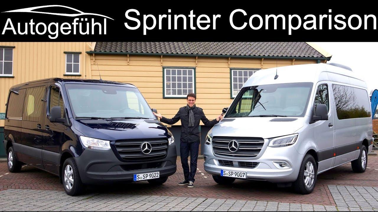 Mercedes Sprinter FULL REVIEW All New 2019 Tourer Vs Cargo Van