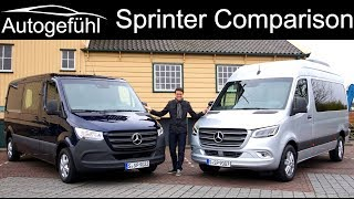 Mercedes Sprinter Full Review All-New 2019 Tourer Vs Cargo Van Comparison - Autogefühl
