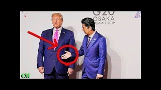 Trump COMPLETELY IGNORES Abe's Handshake at G20 | Social Coach Explains