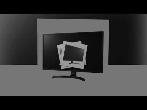LG 32UD60-B 4K UHD Monitor with AMD FreeSync (2018)