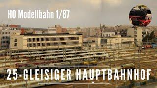Gambar cover H0 Modellbahn - 25-gleisiger Hauptbahnhof - Ivo Schraepen