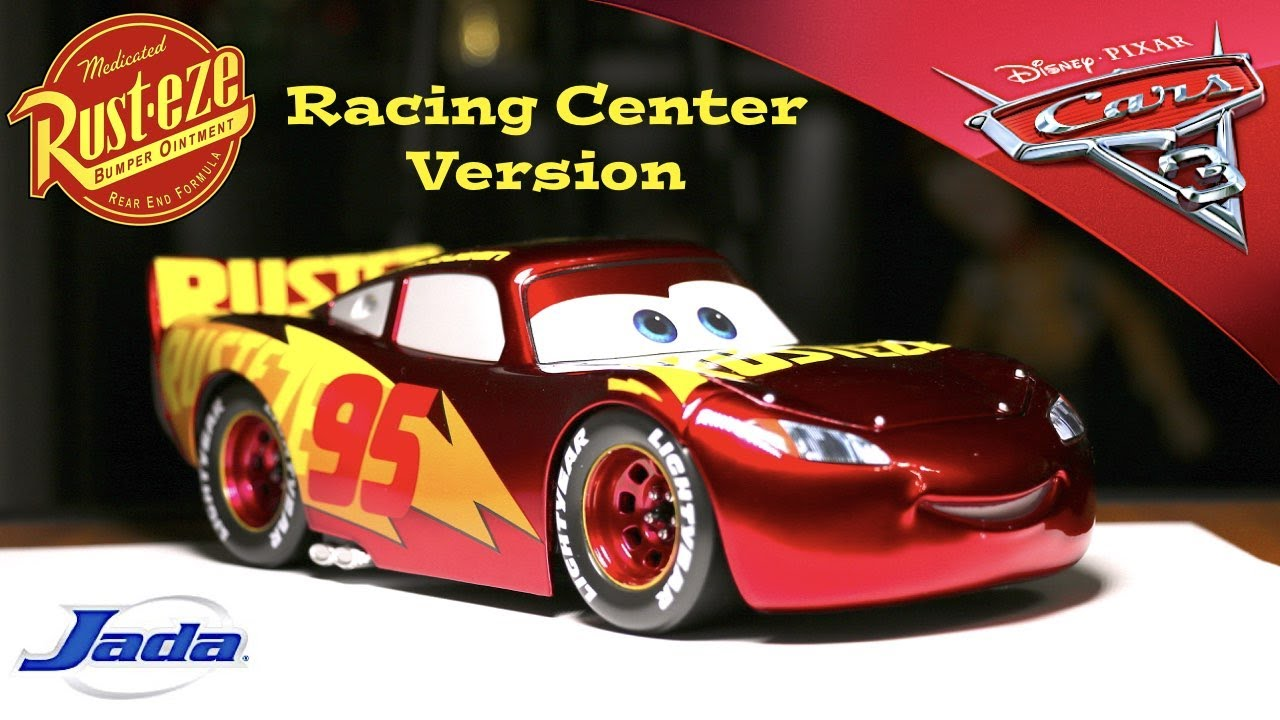 Lightning Mcqueen Rust Eze Racing Center Review Cars 3 Youtube