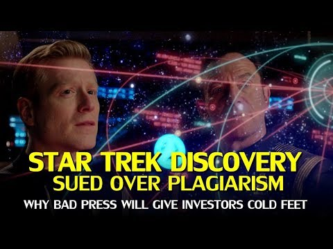 Star Trek Discovery gets CBS sued over Plagiarism, and #StarTrekToo