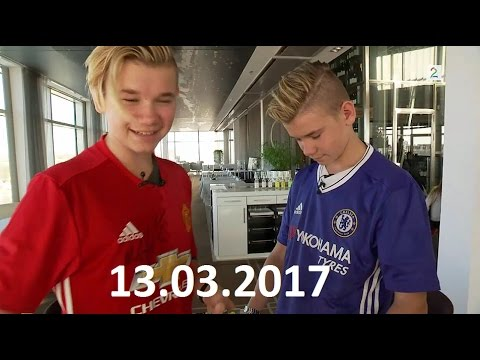 Marcus & Martinus intervju Mars 2017