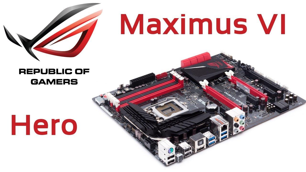 Motherboard Asus Maximus Vi Hero Intel Z87 Para I7 Lga