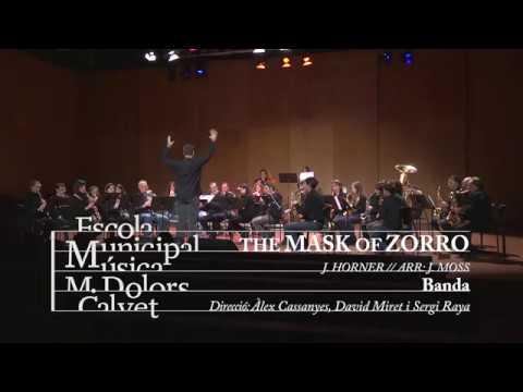 The Mask of Zorro - Banda EMM Vilafranca - St.Raimon'18