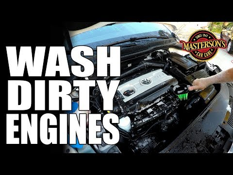 How To Wash Your Engine - Masterson's Car Care - Detailing Tips & Tricks