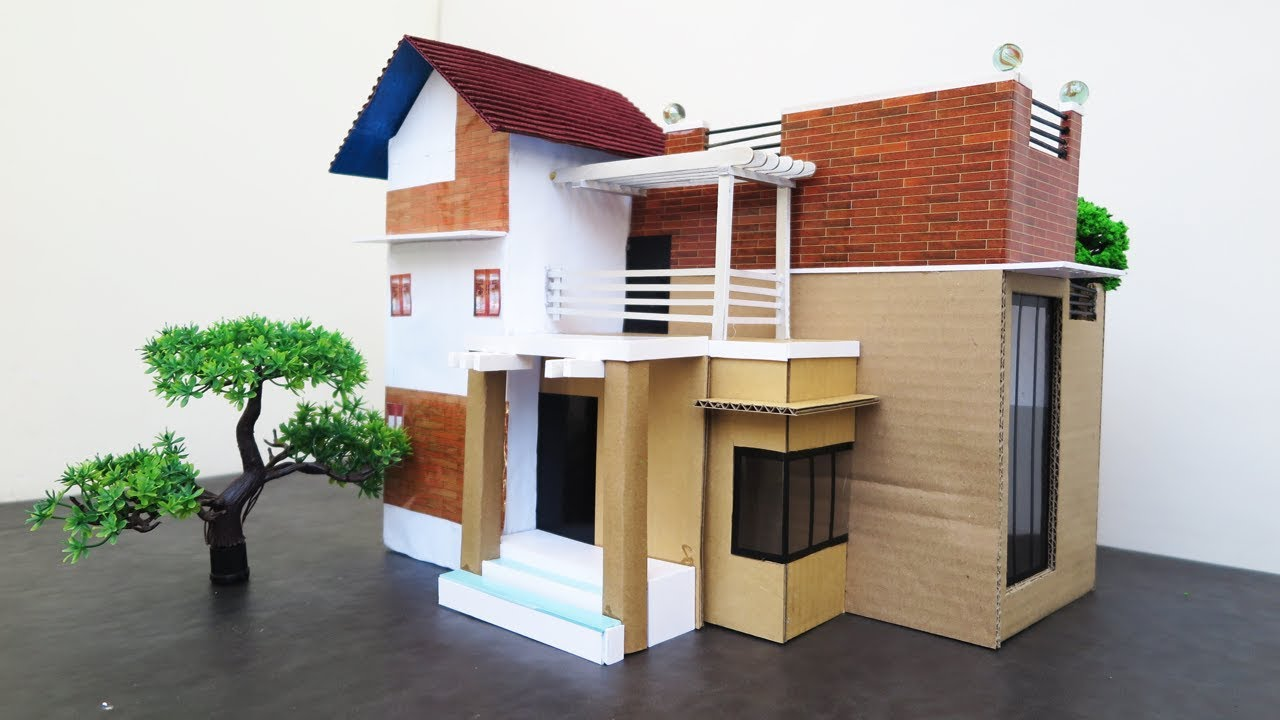 How To Make A Beautiful Modern House From Cardboard Trailers