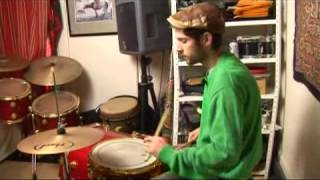Drum Stick Patterns for Bossa Nova: 2-3 Rumba Clave