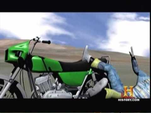 200 MPH Motorcycle Crash