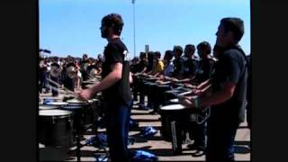 Rhythm X 2009 Full Run In the Lot (WGI World Championships)