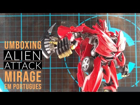 Alien Attack STF-01, The Autobot Mirage Umboxing