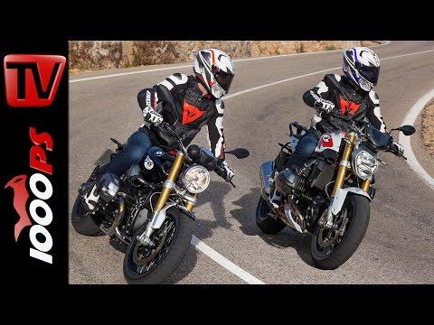 2015 | BMW R nineT vs. BMW R 1200 R | Vergleichstest