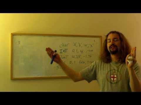 Intro to Programming - Part 2: Data Types
