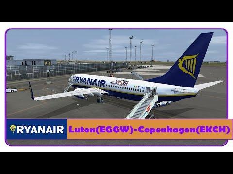 [FSX]Ryanair,Luton-Copenhagen