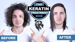 ✅ Getting the Keratin Treatment (Before & After) - Men