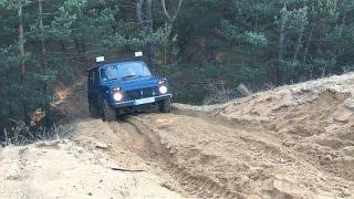Off Road - Niva 4x4 + Suzuki Vitara - 2016-02-07(Jazda w terenie: Lada Niva 4x4 oraz Suzuki Vitara V6. Górki, dużo piachu i trochę wody., 2016-02-08T11:22:20.000Z)