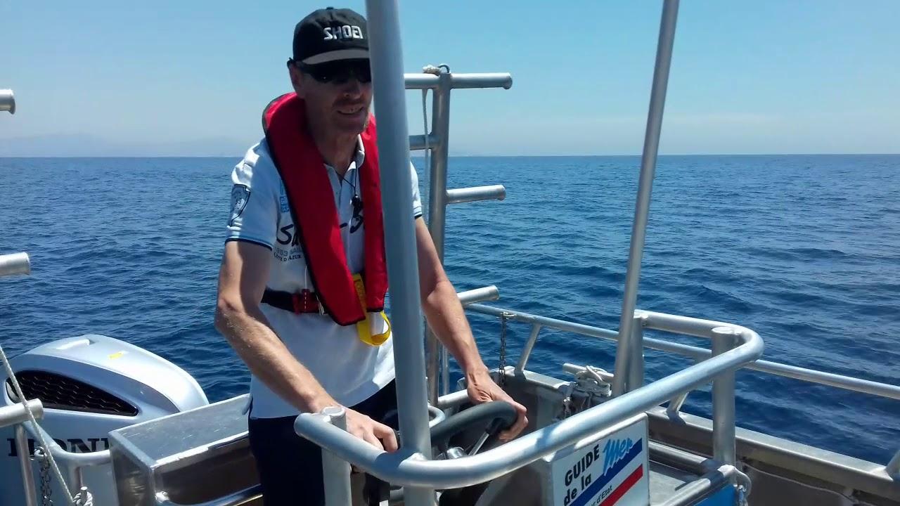 l'homme a la mer pour le permis bateau cotier