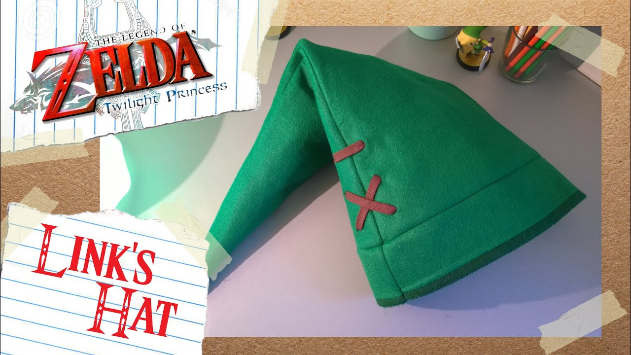 Twilight Princess: Link's Hat DIY Tutorial - YouTube