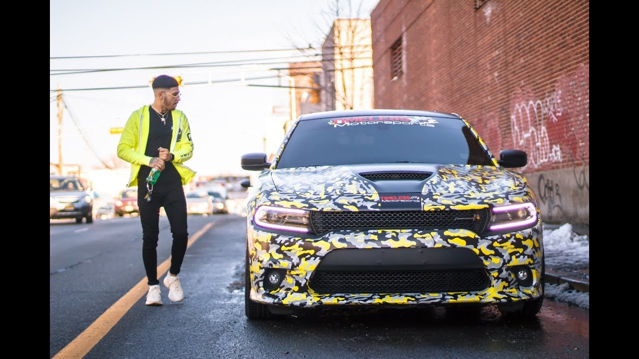 New Dodge Charger >> revealing my new wrap on my dodge charger scat pack ! | BRAAP VLOGS - YouTube