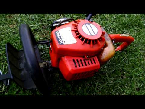 Old Echo HC 1500 hedge trimmer! - YouTube