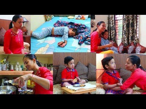 my-morning-routine-with-kid...-सोमवार-से-शक्रवार-की-सुबह