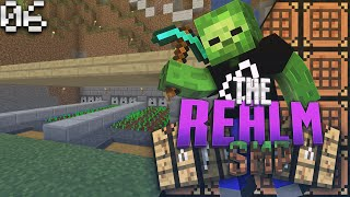 Minecraft PE Realms SMP E6 - Automatic Farming (MCPE 0.15.3 Multiplayer)