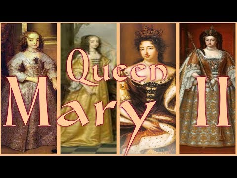 Queen Mary II of England 1662 1694