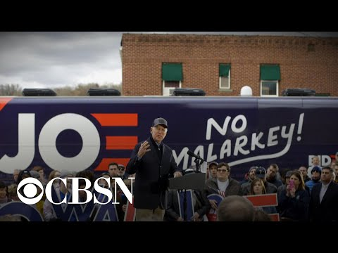 "Joe Biden wraps up ""No Malarkey"" Iowa bus tour"
