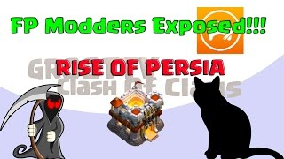 🔴Fair Play Modding Clan Exposed!! 🔴Rise Of Persia Clash Of Clans Groottv