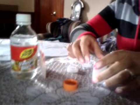 Cohete con vinagre y bicarbonato yenny liliana pulido - Como limpiar la lavadora con vinagre y bicarbonato ...