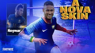 I PLAYED WITH NEYMAR'S SKIN, DID I TAKE THE CUP? FORTNITE