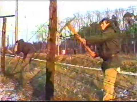 Břeclav 1989 - sametová revoluce 6.část - železná opona