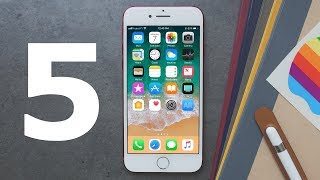 What's New in iOS 11 Beta 5!