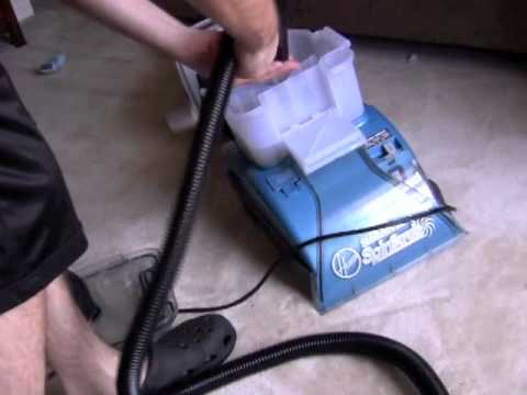 Hoover Steamvac Spinscrub How To Attach Hose And Spin Tool