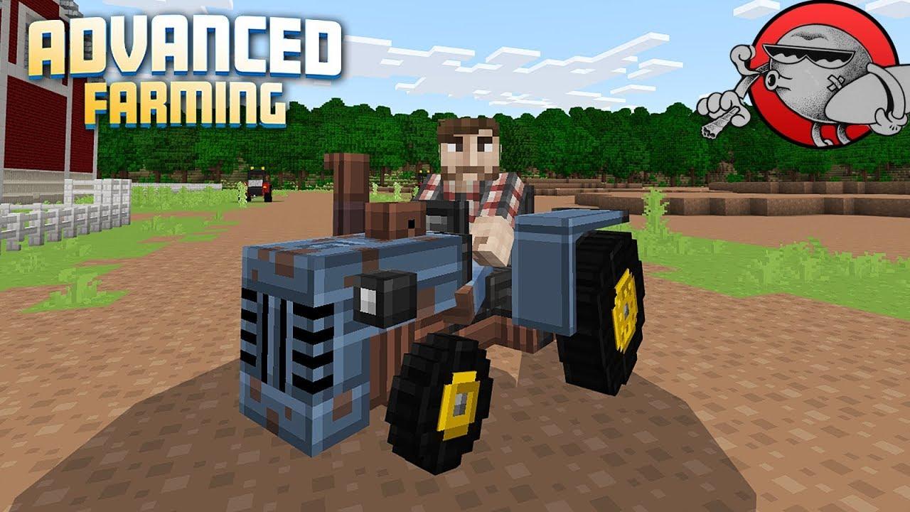 Minecraft - СВОЯ ФЕРМА (ADVANCED FARMING #1)